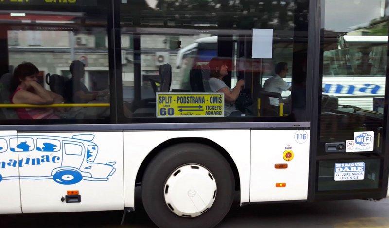 Dalmatinac koristi Prometov broj 60